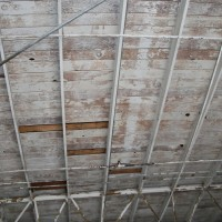 Wood Ceiling Before thumbnail