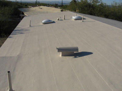Stay-Cool Elastomeric Roof Coating